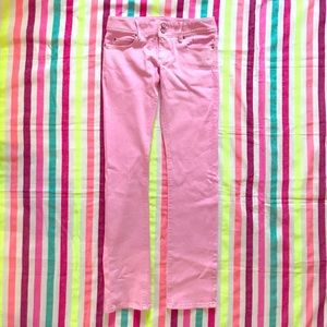 Lilly Pulitzer Worth Straight Jean, Size 4
