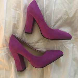 Beautiful purple heels