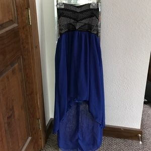 Dresses & Skirts - Brand New🖤💙High Low Blue/Black Dress