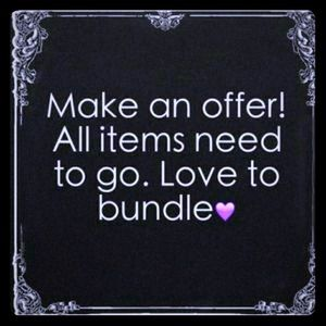 OFFERS WELCOMED!!! BUNDLE DISCOUNT AVAILABLE 😎