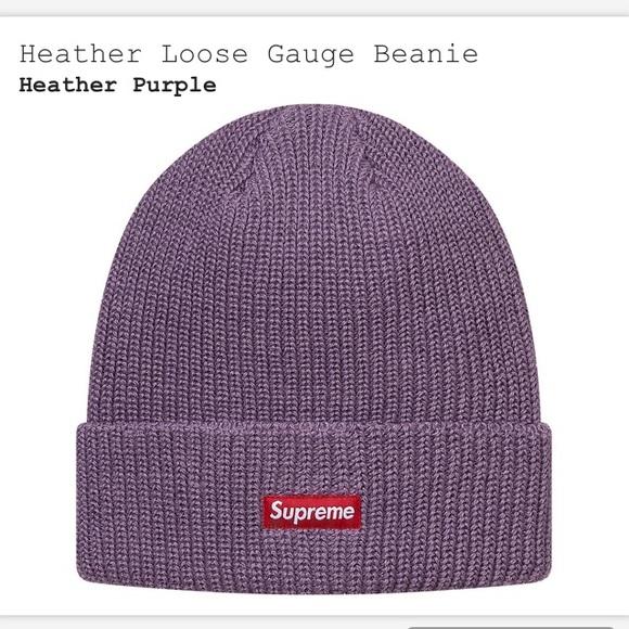 b71cc18a Supreme Heather Loose Gauge Beanie. M_59de71147fab3a194d0331e4