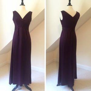 Tahari Silk Evening Gown