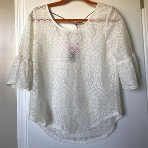 Tops - Bundle only! Trendy lace top
