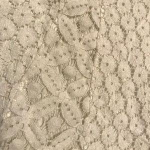 Paper Crane Tops - White Lace Tank