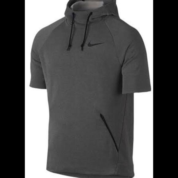 fa1f7936 Nike Shirts | Drifit Short Sleeve Hoodie Nwt | Poshmark