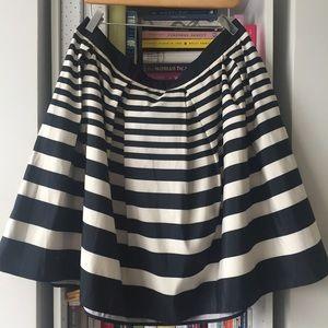 Black & Ivory Party Skirt