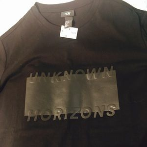 H&M Unknown Horizon Shirt For Men Black