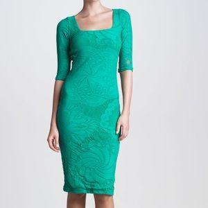 Jean Paul Gaultier Green Mesh Dress