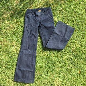 Tory Burch Size 25 Wide-leg Trouser Jeans