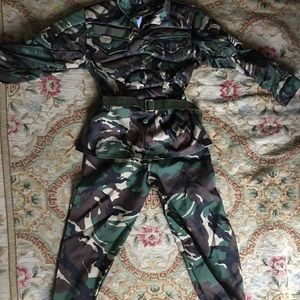 Other - Child army one piece costume