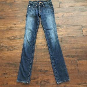 Skinny Tory Burch jeans