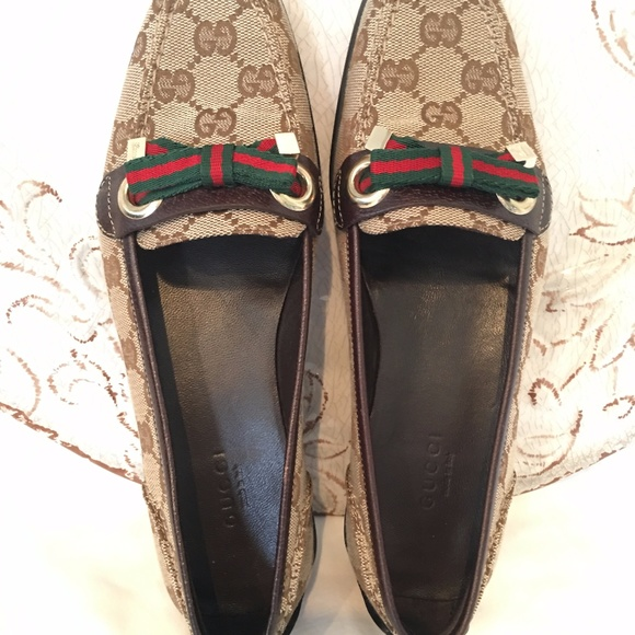 Gucci Loafer Womens Driving Shoe