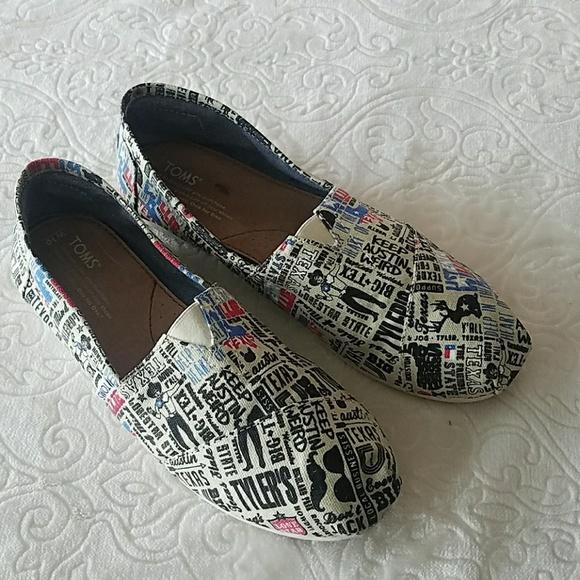 TOMS Shoes | Womens Size 10w | Poshmark