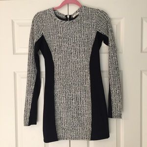 StitchFix LAMade Boucle Tweed Panel Ponte Dress