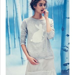 For love and Lemons Snow Bunny sweater