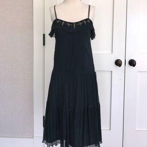 Rebecca Taylor 💯% silk embroidered dress