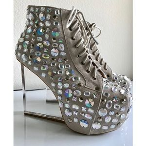 Jeffrey Campbell Dina Jewel Wedge