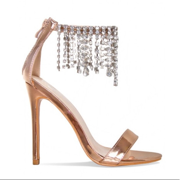 hot products huge sale discount shop Shoes | Rose Gold Diamond Drop Heels | Poshmark