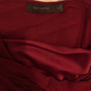 Burgundy lightweight shirt