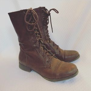 🎉PRICE DROP🎉 FOREVER 21 Brown Jump Boots