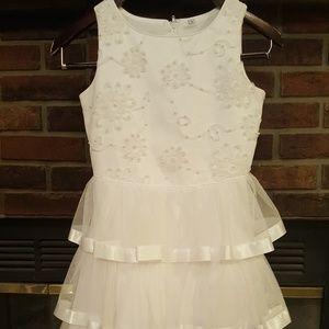 1st Communion Dress .. Beaded & Beautiful! Size 10