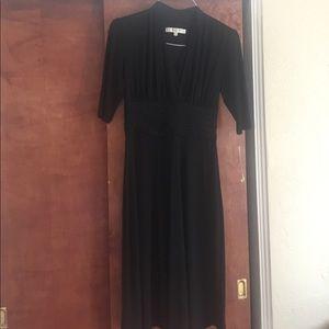 Vintage black Evan-Picone Dress