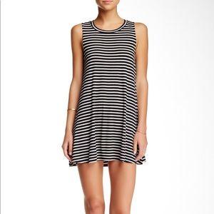 Socialite Striped Tank Dress