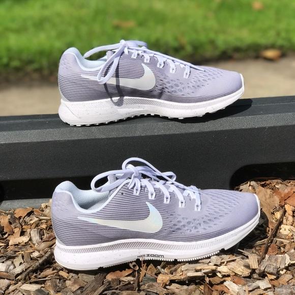 size 40 96cb7 dbc99 NWT Nike ID Air Zoom Pegasus 34 Wolf Grey WMNS