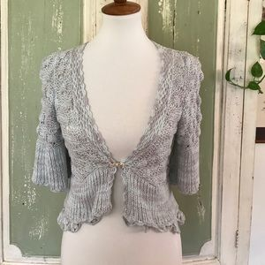 Anthropologie Hand knit by Dollie size M Sweater