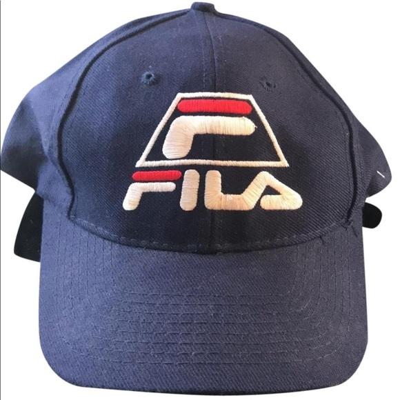 9e1b97438a3 Fila Other - Vintage Fila SnapBack is size Grant Hill  33 Hat