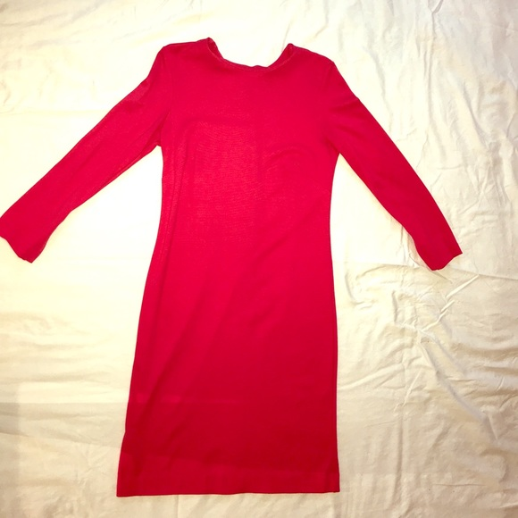 Ann Taylor Dresses & Skirts - Hot pink Ann Taylor dress, Size 4 - new condition!