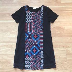 Everly UO aztec print shift dress