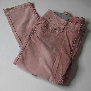 Juniors Pale Pink Skinny Jeans