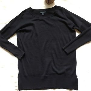 Cynthia Rowley classic wool lightweight sweater