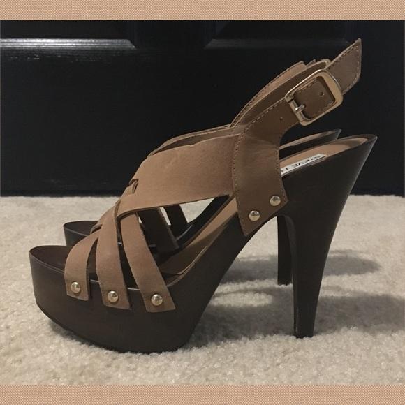 "83da31d186f Steve Madden ""Desi"" sexy 5"" clog stiletto heels"
