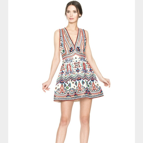 1f36d7195a68 Alice + Olivia Dresses & Skirts - Alice + Olivia 'Patty' Beaded Embellished  Dress