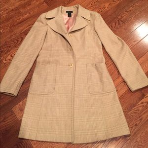 French Wool Blend Coat