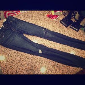 Abercrombie Skinny jeans slightly distressed