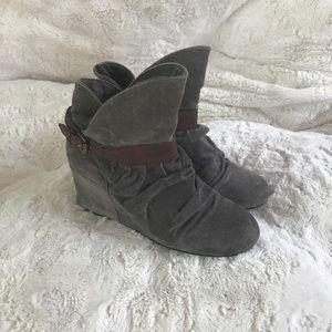 Aldo wedge booties