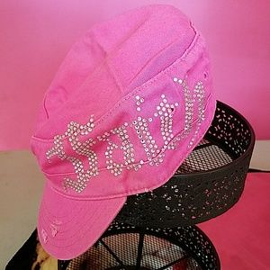 Accessories - Pink Bling Faith Cap