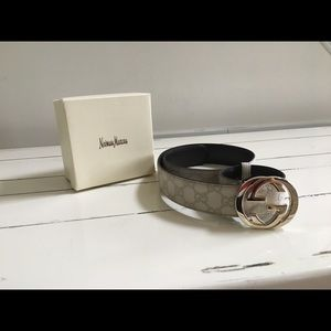 Other - Gucci White Belt