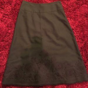 Women's Ann Taylor Loft A-line skirt. Size 2.