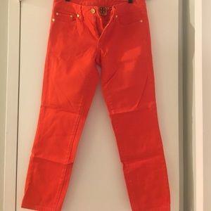 Tory Burch orange pants