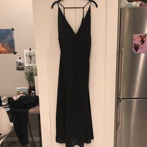 Dresses & Skirts - Black vintage floor length dress