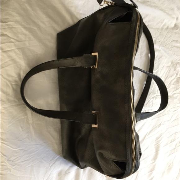 b17bc974e2 ZARA Deep Green faux leather duffle. M_59dea92f78b31c489d00cc8a. Other Bags  ...