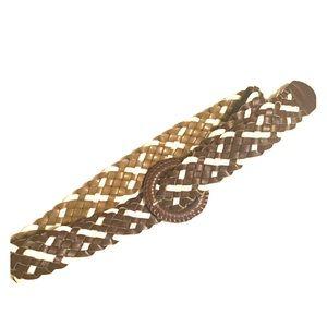 Accessories - Brown woven belt