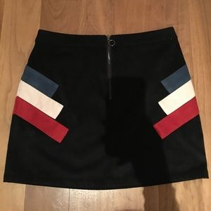 Dolce Vita faux suede skirt