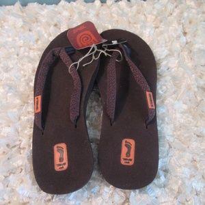 574cd4209597 Teva Shoes - Teva Toolani Brown Flip Flop