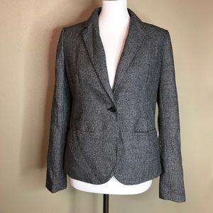 NWOT| {Merona} Modern Wool Blazer 