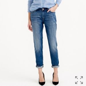 J. CREW BROKEN IN BOYFRIEND JEANS WALKER WASH 29